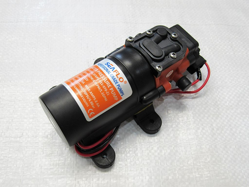 12V Automatic Diaphragm Pump - Water Pump Garden Patio Ponds Fountains Pumps Plumbing Hydraulics
